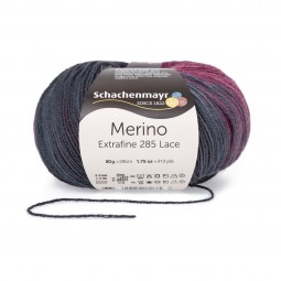 MERINO EXTRAFINE 285 LACE - AMOUR (00593)