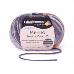 MERINO EXTRAFINE COLOR 120 - KVITFJELL COLOR (00506)
