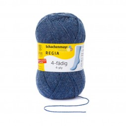 4-FÄDIG 100g - JEANS MELIERT (02137)