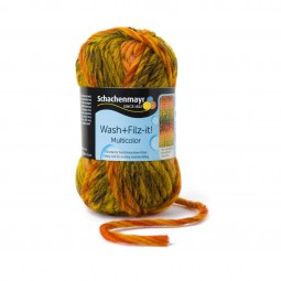 WASH+FILZ-IT! MULTICOLOR - CURRY (00255)