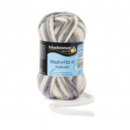 WASH+FILZ-IT! MULTICOLOR - NATUR/ GRAU (00245)