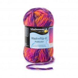 WASH+FILZ-IT! MULTICOLOR - PI-LILAC (00208)