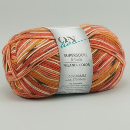 SUPERSOCKE 6-FACH MILANO COLOR - Farbe 1620
