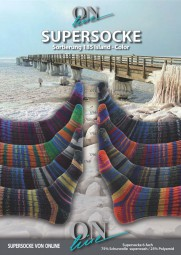 SUPERSOCKE 6-FACH ISLAND COLOR - Farbe 1768